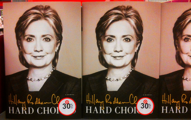 Hillary Clinton book cover